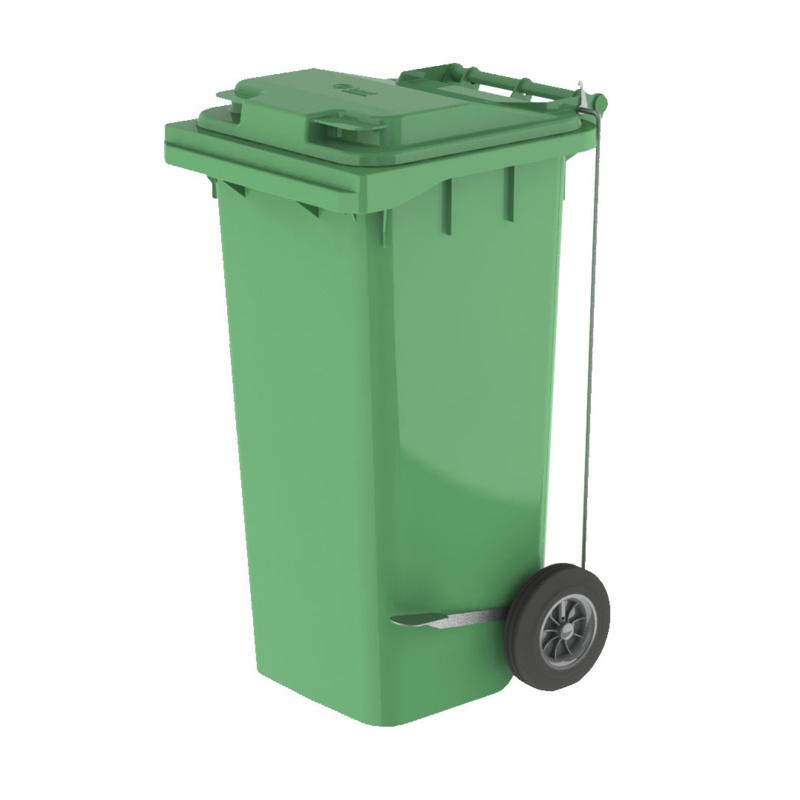 <center><b>Американец прокатился на мусорном баке</center></b>