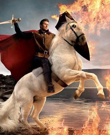 <center><b>В Москве нашли принца на белом коне</center></b>