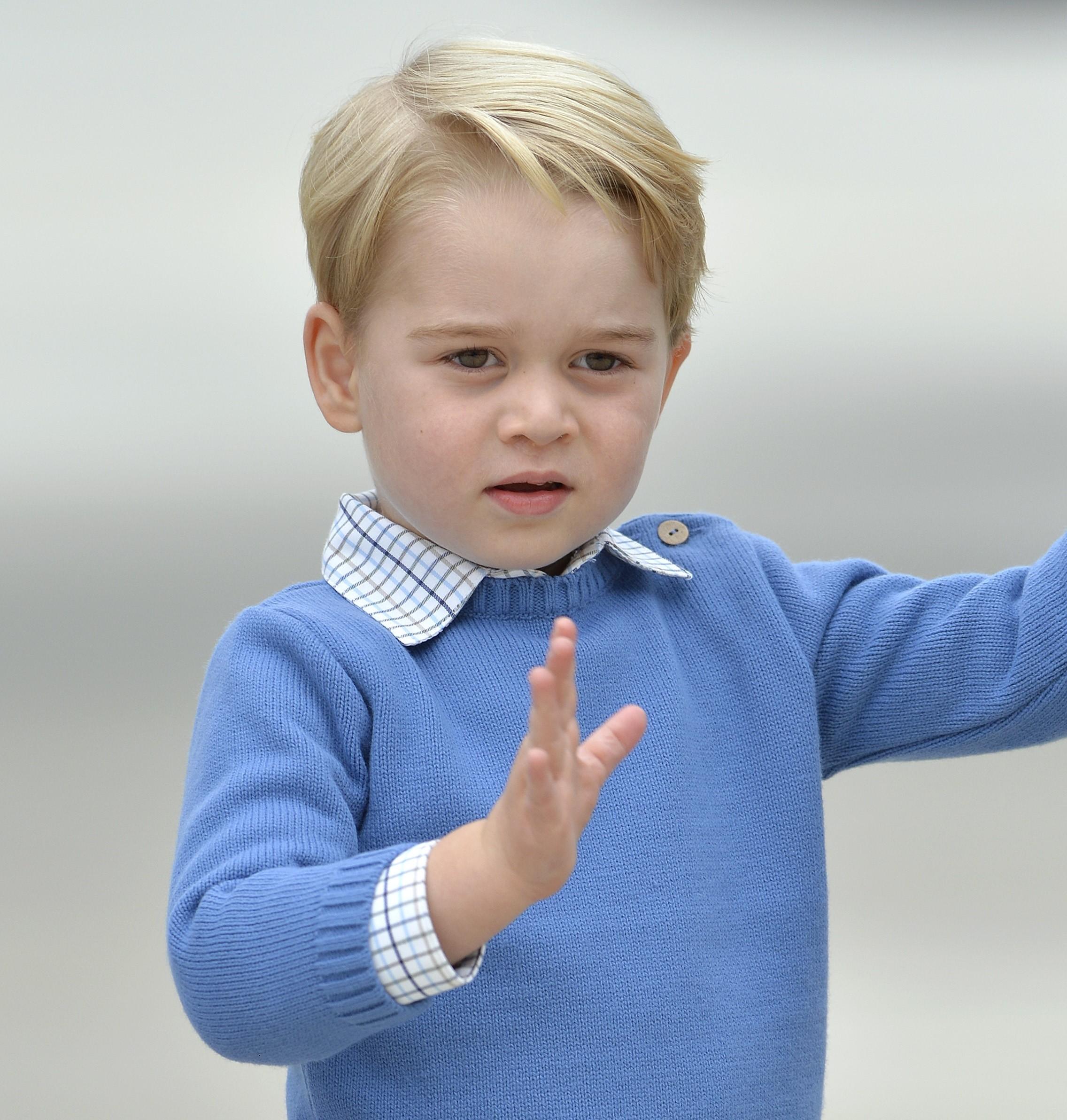 Принц Джордж обидел премьера Канады (видео)