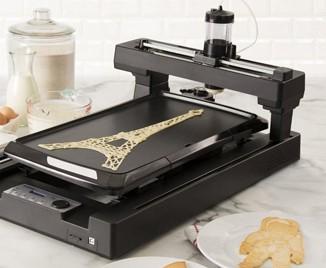 3-D принтер вместо сковородки (видео)