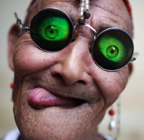 Дедобабушка из Китая (фото)