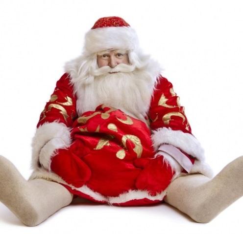 Брянский Дед Мороз не устоял на ногах
