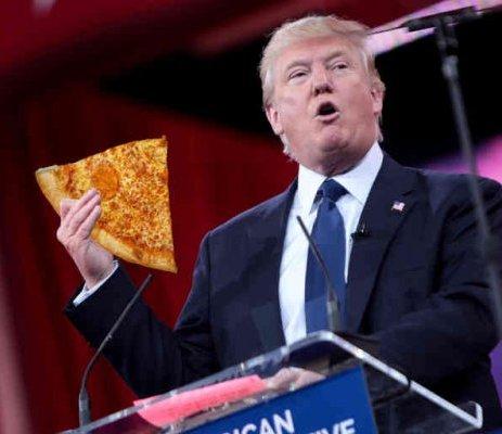 <center><b>Дональд Трамп разозлил фанатов пиццы</center></b>