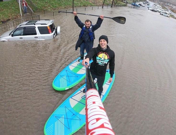 Во Владивостоке увлеклись сёрфингом