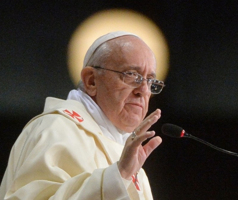 <center><b>Папа Римский стал самым популярным человеком</center></b>