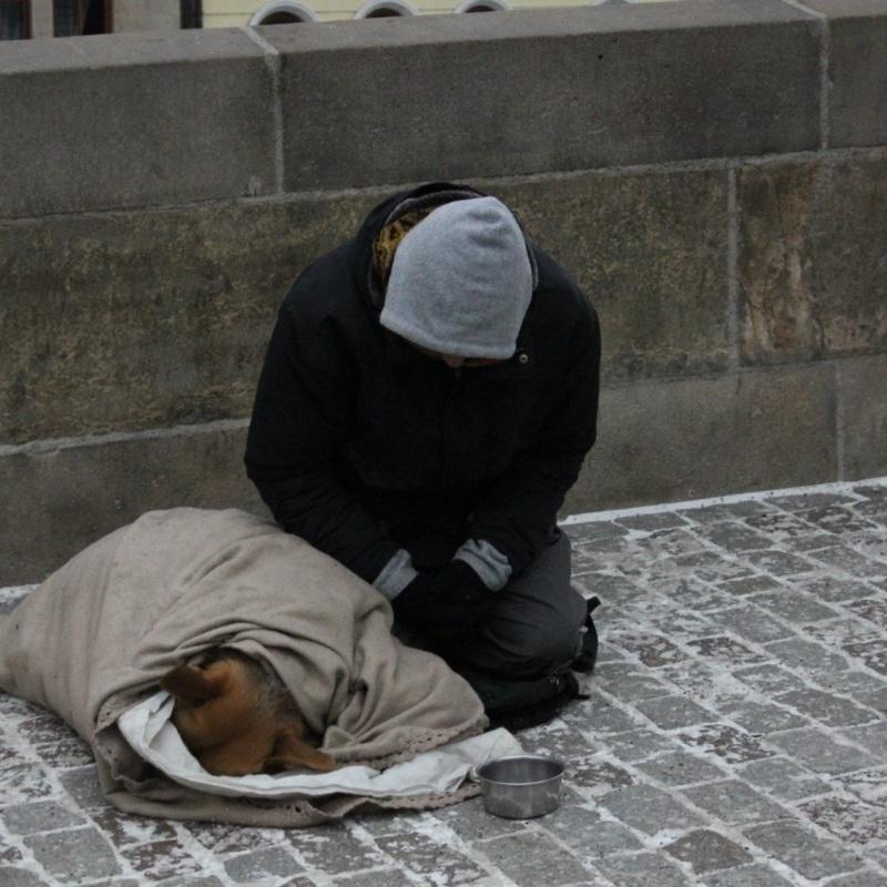 <center><b>Бездомный заработал 15000 долларов за ночь</center></b>