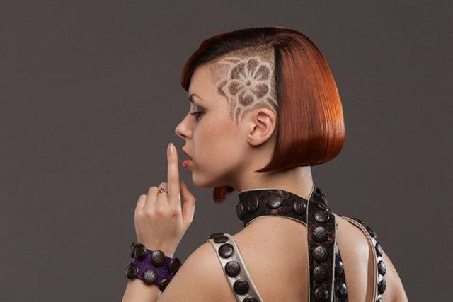 <center><b>Узоры на волосах набирают популярность</center></b>