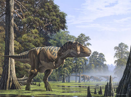 <center><b>Дворник-динозавр чистит улицы в США</center></b>
