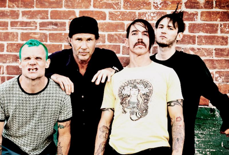 <center><b>Red Hot Chilli Peppers перепутали с Metallica</center></b>