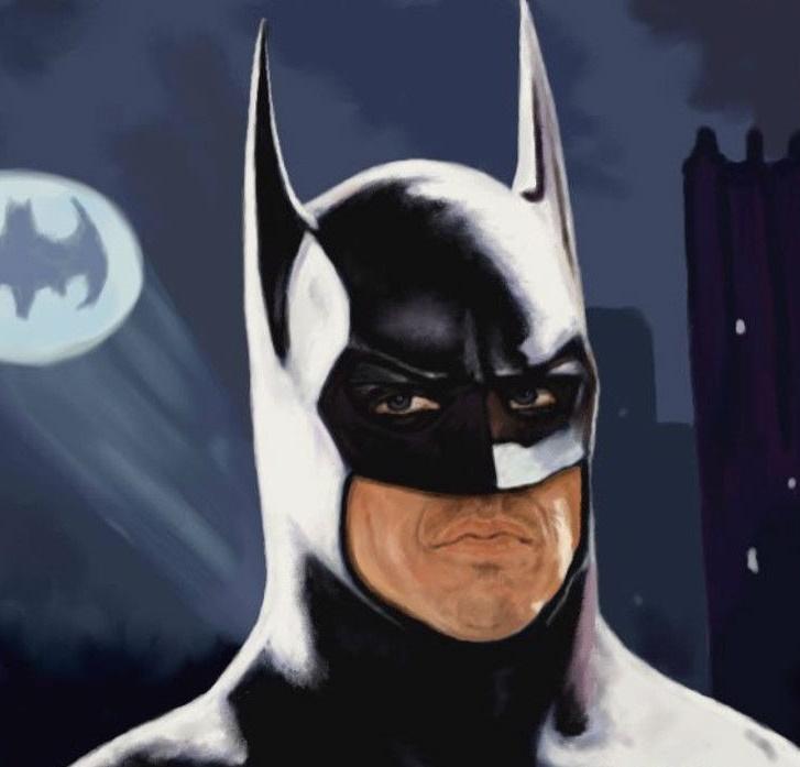 Канадские полицейские схватили бэтмена