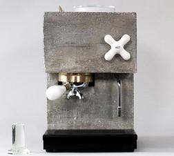 Суровая новинка: кофеварка из бетона