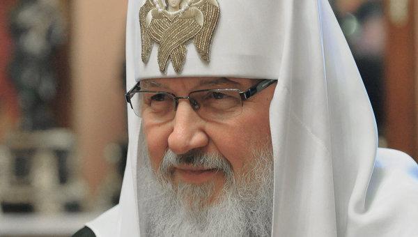 <center><b>Патриарх Кирилл не рад иностранным словам</center></b>
