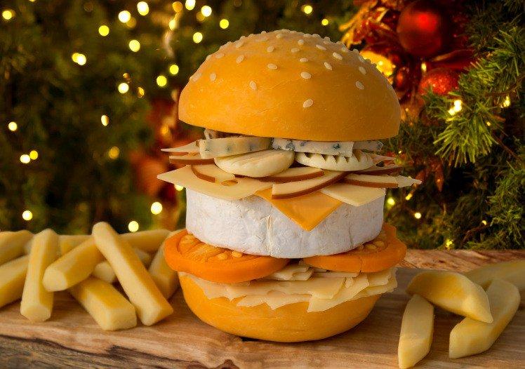 Самый сырный бургер в мире