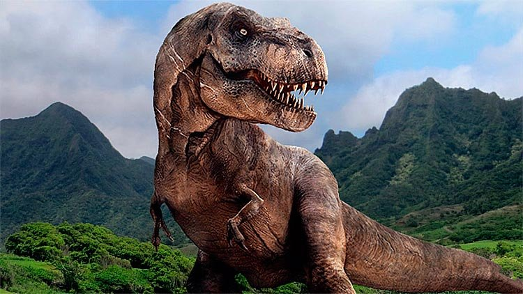 Бородатая женщина подралась с динозавром