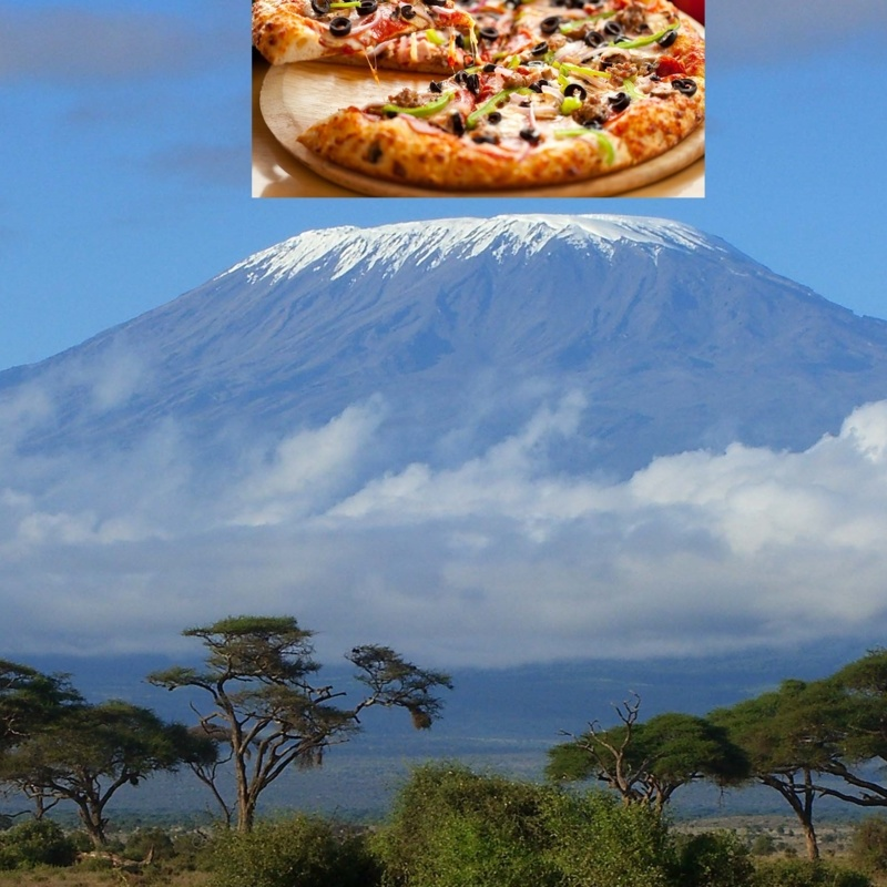 <center><b>На Килиманджаро доставили пиццу</center></b>