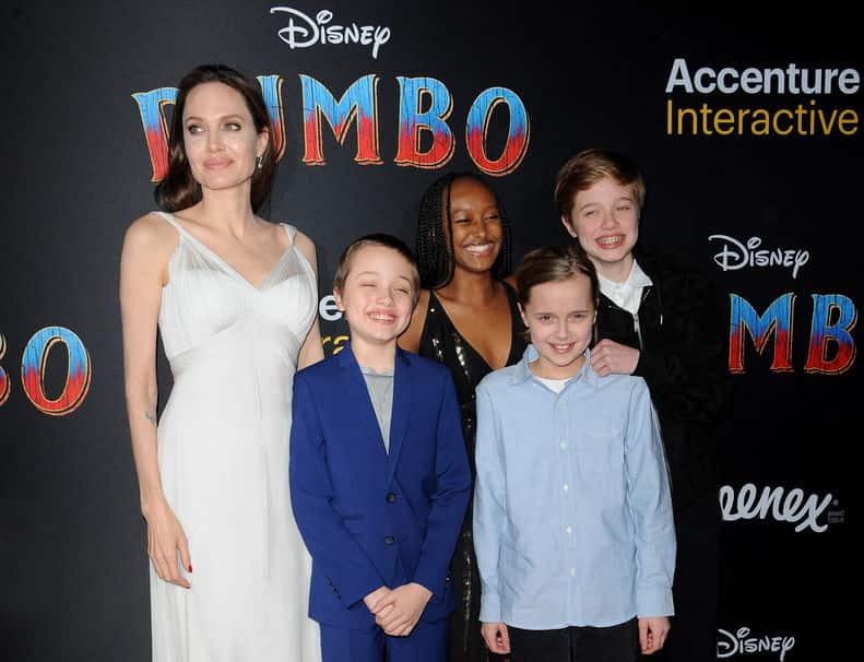 Анджелина Джоли хочет стать мамой в седьмой раз