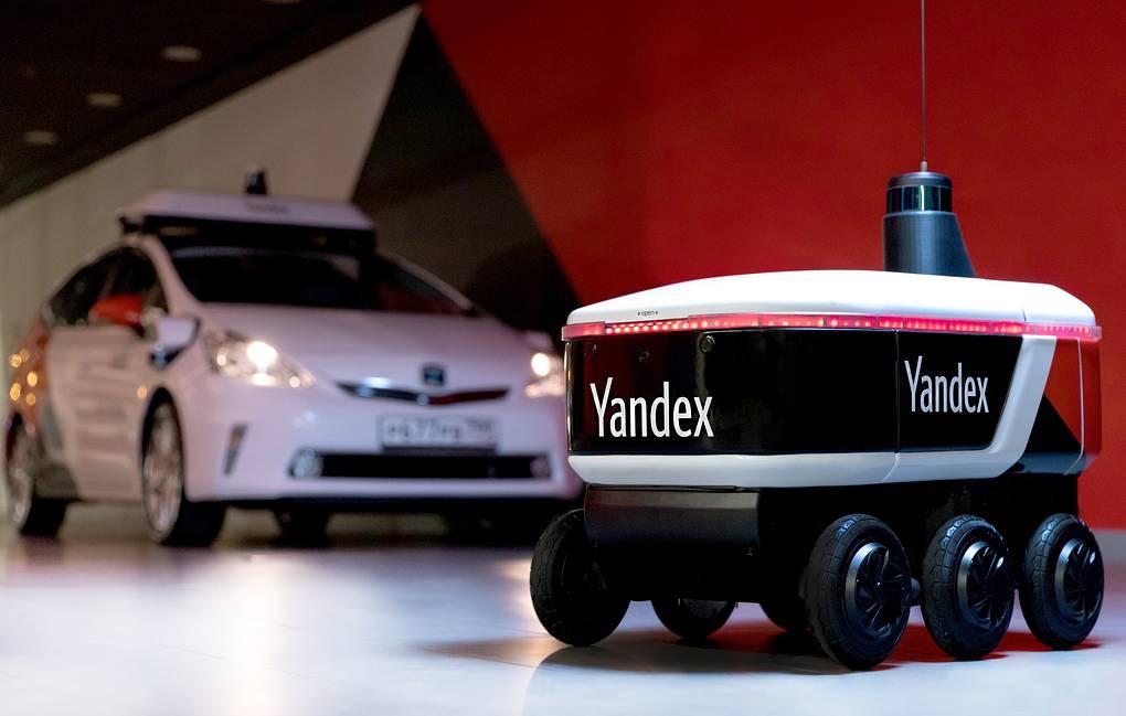 «Яндекс» представил робота-курьера для Москвы