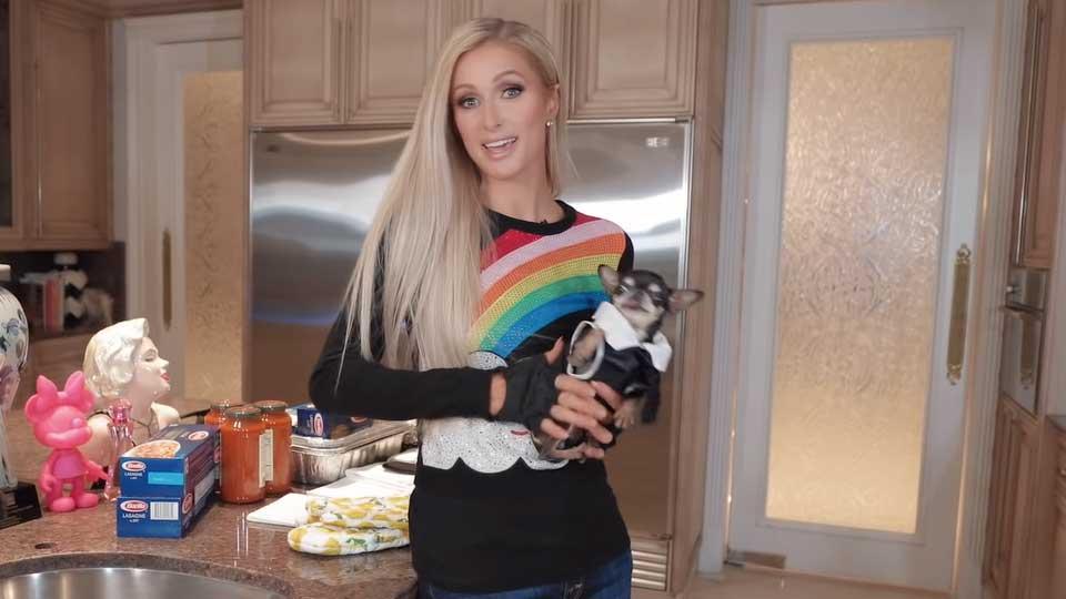 Пэрис Хилтон стала кулинарным блогером