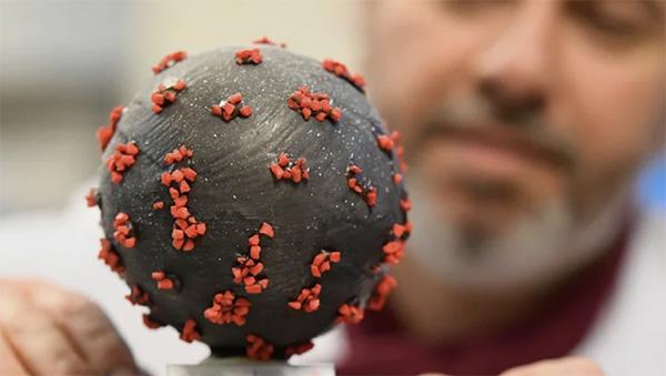 Французский кондитер создал коронавирусные пасхальные яйца