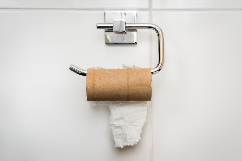 Программист разработал приложение для расчета туалетной бумаги