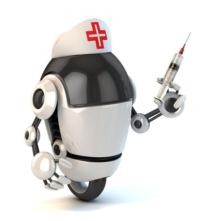 <center><b>Роботы отнимают работу у живых врачей</center></b>