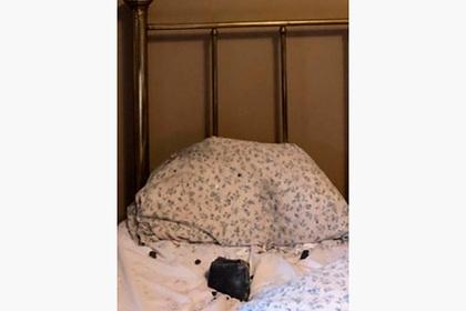 В Канаде метеорит упал на подушку спящей женщине